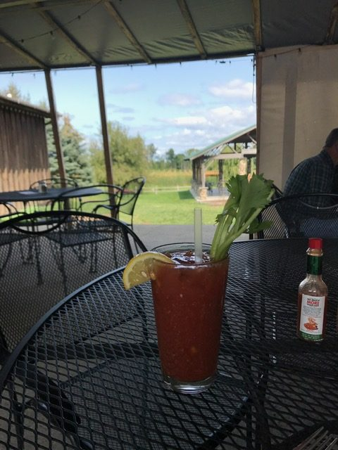 WanderWise Travel Album Caribbean vacation Bloody Mary drink