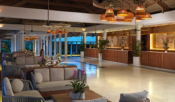 Melia Caribe Beach All Inclusive Vacation Package hotel lobby