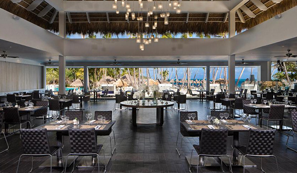 Melia Caribe Beach All Inclusive Vacation Package dining area