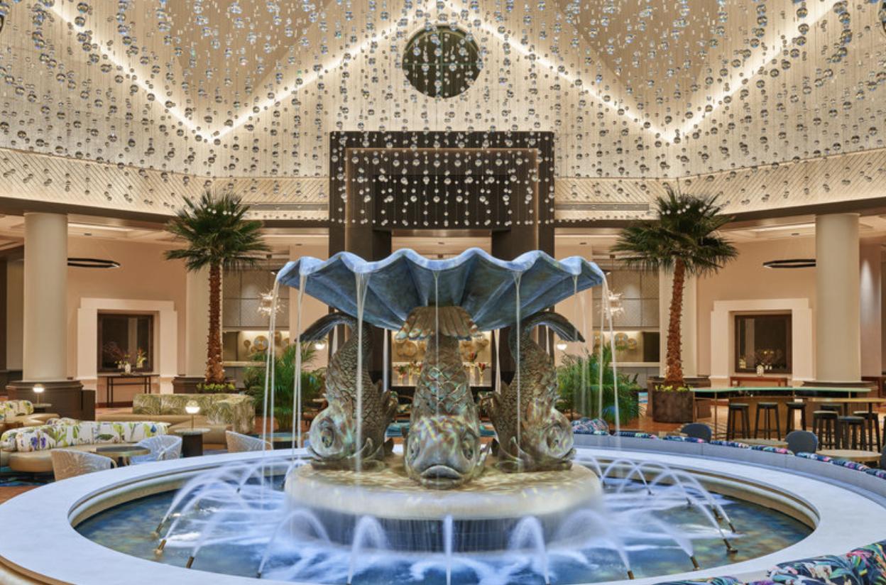 Walt Disney World Dolphin Resort - Fountain